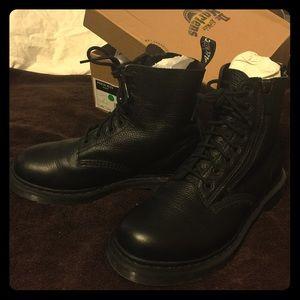 Dr Martens pascal black boots Like new w box sz 9