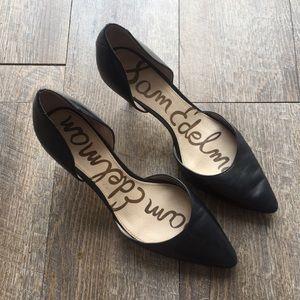 Sam Edelman black heels size 8