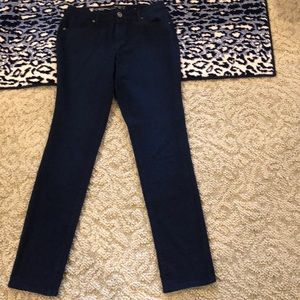 "NWOT-TALL 10 NAVY JEANS WITH STRETCH 34"" INSEAM"