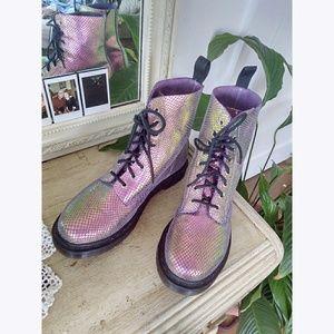 Doc Martens Pascal Iridescent Boots