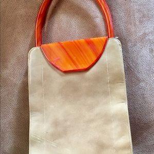 Vintage woman purse bakelite bu Triangle NY