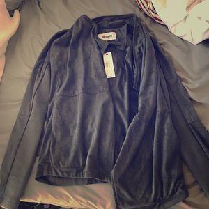 BB DAKOTA small wade suede jacket.