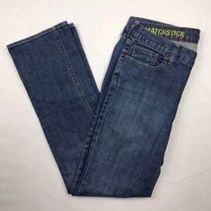J.Crew Size 8 Womens Blue Straight Leg Jeans