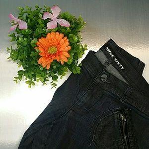 Miss Sixty Dark Denim Skinny Jeans!