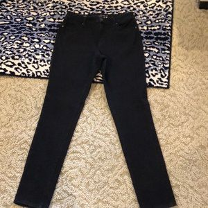"NWOT TALL 10 BLACK JEANS WITH STRETCH 34"" INSEAM"
