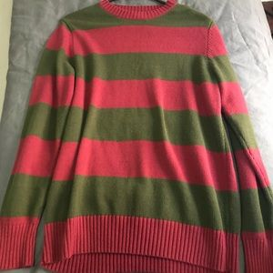 Sweaters - Freddy Krueger Red Green Sweater Fall Cozy Warm