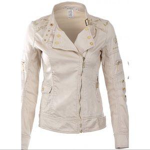 Jackets & Blazers - Embroidered zip up Jacket