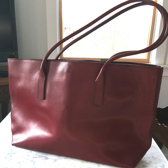 5317d3e465c8 Prada Vintage Red Leather Tote. M 5a0dca683c6f9f9d4e03d150. Other Bags ...