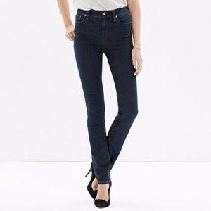 New MADEWELL high riser skinny skinny jeans 32