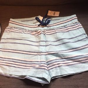 NWT J.Crew casual shorts w/ elastic waistband, 2