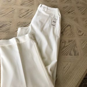 NWT Larry Levine stretch lined trousers