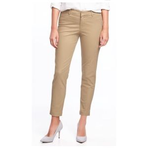 Old Navy Mid-Rise Pixie Chinos 2