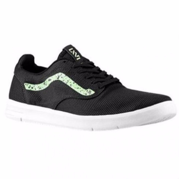 7981f79daeb863 Vans LXVI Iso Speckle Black Green White Ultra Cush
