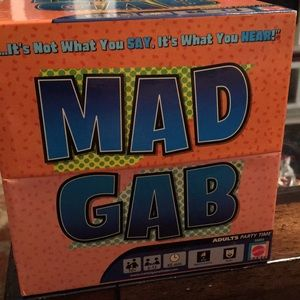 [ Mad Gab Adult Party Game ] 10+ 2-12