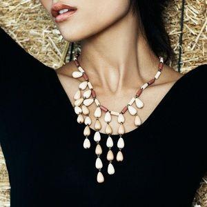 Jewelmint NEW FRONTIER Beaded Bib Necklace NEW