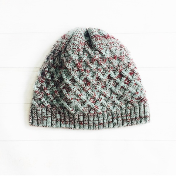 50% Bundles❗ Merrell Lattice Knit Beanie Hat a14c5c8c978