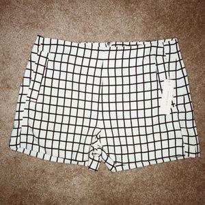 Black/white shorts! NWT
