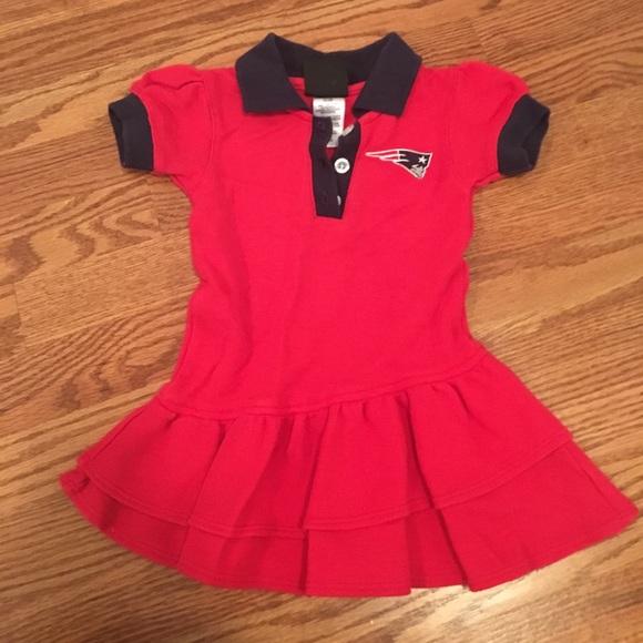 0570aaadc21 18M Patriots cheerleader polo dress/top. M_5a0dd06741b4e040cf03e3fc