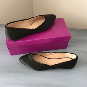 Brand new in box size 7 1/2 rampage satin flats