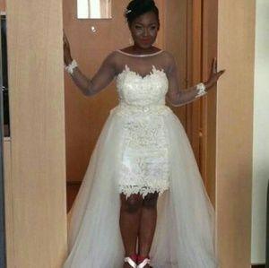 💋WONDERFUL WEDDING DRESS IN💕 PLUS SIZE💕