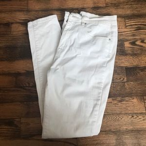 BDG White Jeans High Rise Twig