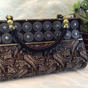 Handbags - Brocade Evening Bag