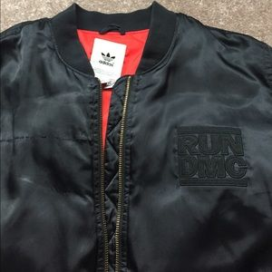3757c4487ec4 adidas Jackets   Coats - ADIDAS Run DMC Bomber Jacket