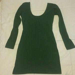 American Apparel Forest Dress Mini Dress