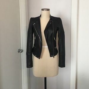 Real Leather Jacket! NWT