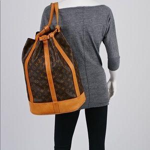 Authentic Louis Vuitton Randonnee GM Backpack