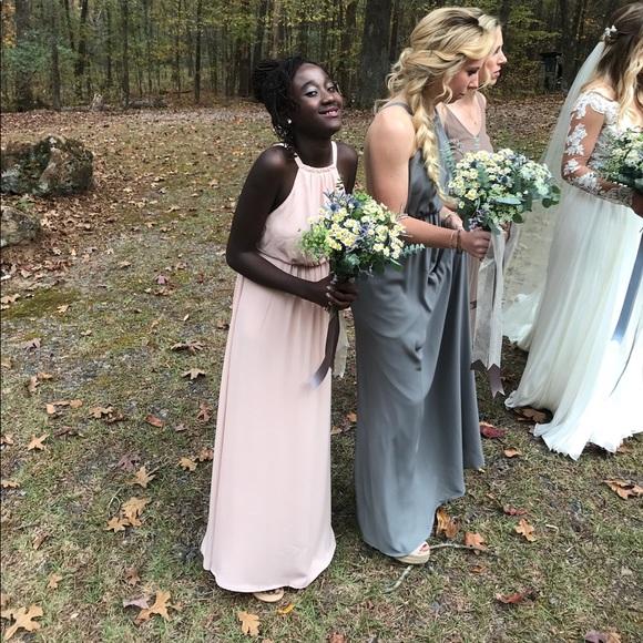 Show Me Your Mumu Dresses Amanda Dusty Blush Poshmark