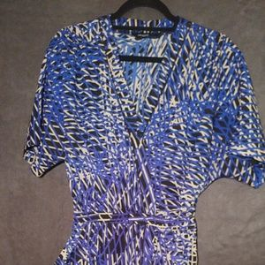 Faux wrap dress with pockets/Eloquii/size 16