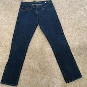 Old navy slim fit denim jeans