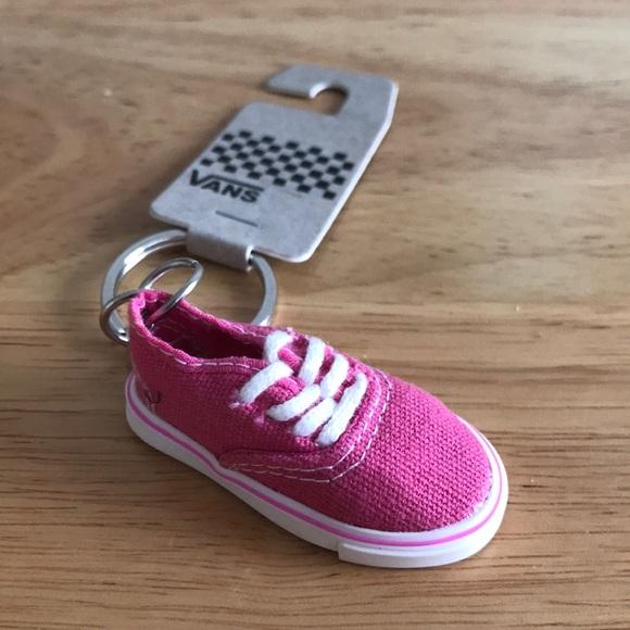 e8b98c708abf Rare Vans Pink Authentic Shoe Keychain New