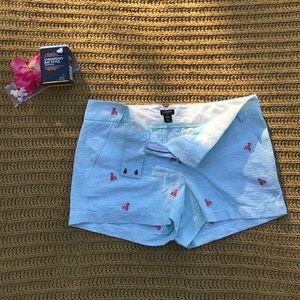 J. Crew Lobster Shorts