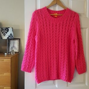 TAKE 50% OFF! joe fresh pink crewneck sweater