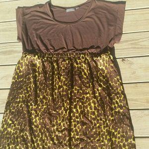 Avenue leopard babydoll dress size 22/24