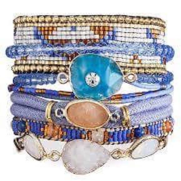 first rate 2b0d4 08f21 Hipanema bracelet Cobalt - NwT 😍