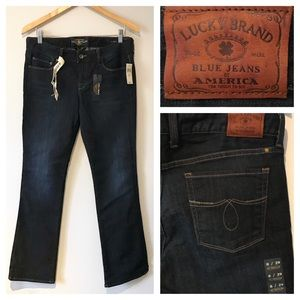 Lucky Brand Curvy Boot Cut Jeans