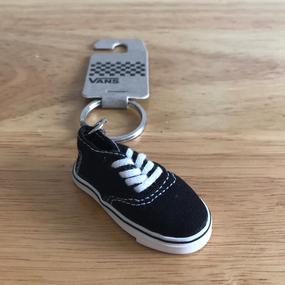 3274433a84bf Rare Vans Black Authentic Shoe Keychain New