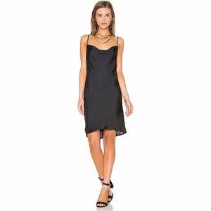BARDOT STRAPPY SLIP DRESS -AUS 8