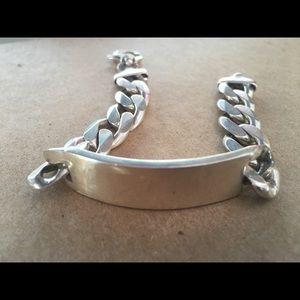 Jewelry - Sterling silver bracelet for men