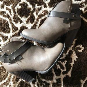 XOXO Grey booties