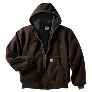Carhartt quilted flannel lined jacket (small)