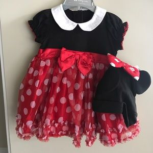 Other - Never Worn Baby Girl Mini Mouse Dress 6/9mths