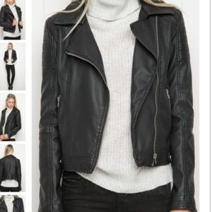 Brandy Leather Jacket