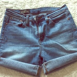 Jcrew cutoff shorts