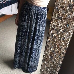 Boho maxi skirt!