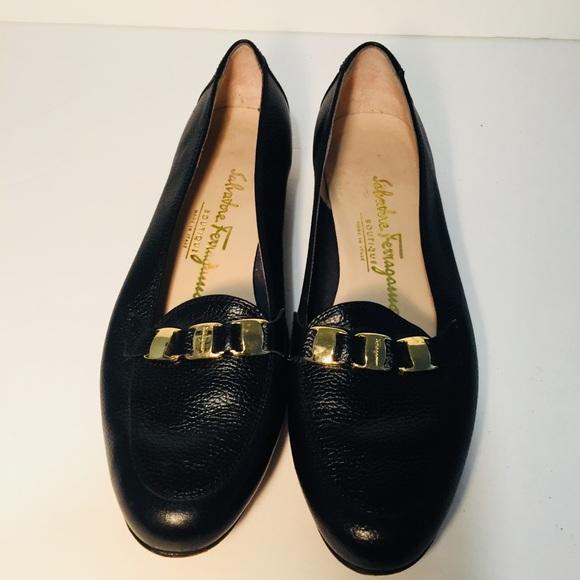 Salvatore Ferragamo Shoes - Salvatore Ferragamo Loafer Flats Size 6 N