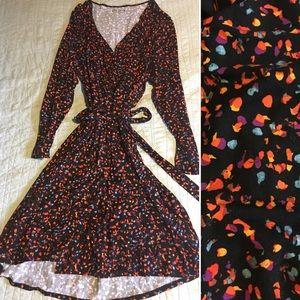 Ava & Viv Faux Wrap Dress